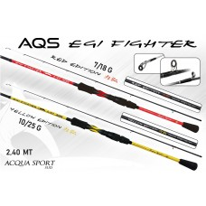 Canna AQS EGI FIGHTER – RED EDITION