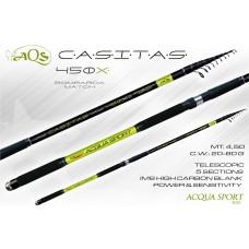 Canna AQS Casitas 4,50mt. , 80 gr
